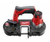Milwaukee M12 BS-0 Scie à ruban à batteries 12V Li-Ion (machine seule) - 41x41mm - 4933431310