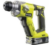 Ryobi R18SDSL25S Marteau perforateur SDS-plus à batteries 18V Li-Ion (1x batterie 2.5Ah) - 1,3J - 5133002325