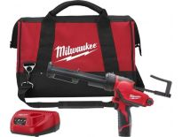 Milwaukee M12 PCG/310C-201B Pistolet à colle à batteries 12V Li-Ion set (1x batterie 2.0Ah) dans sac - 4933441655