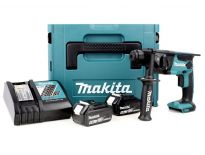 Makita DHR165RTJ Perforateur SDS-plus à batteries 18V Li-Ion set (2x batterie 5,0Ah) dans MAKPAC - 1.3J