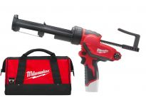 Milwaukee M12 PCG 310C-0 Pistolet à colle à batteries 12V Li-Ion dans sac - 4933441783