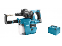 Makita DHR243RTJV Set marteau perforateur SDS-plus à batteries 18V Li-Ion (machine seule) dans MAKPAC avec extraction poussière & mandrin rechangeable inclu.